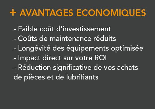 Professionnel - IESPM - Analyse de lubrifiants - Avantages economique